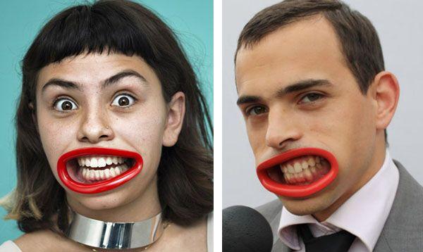 Enseña siempre tu dentadura perfecta...