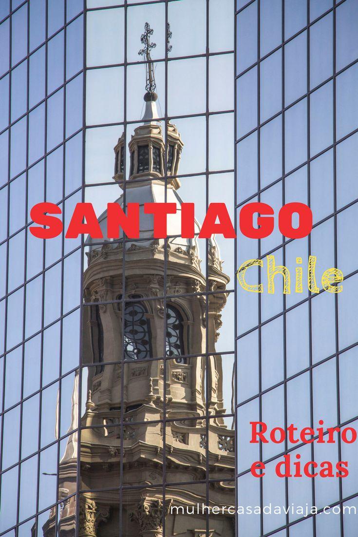 Roteiro e dicas de Santiago, com destaque para o Centro de Santiago. Nos próximos posts, outros pontos de interesse como os cerros e museus.