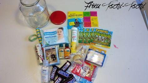 Frau Tschi-Tschi: Geschenk im Glas: Mama Survival-Kit