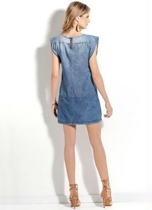 Vestido Jeans Claro Colcci - Posthaus