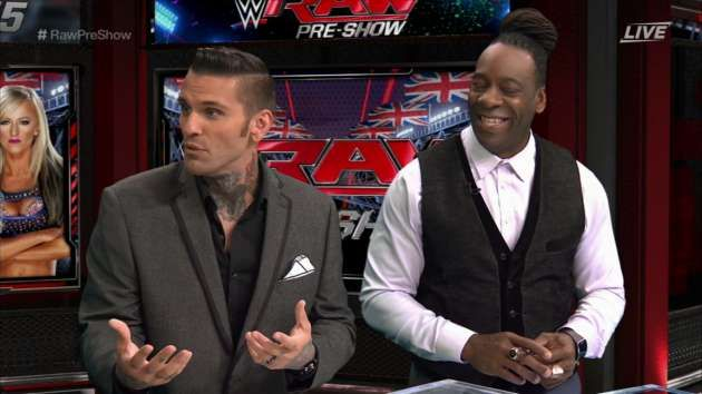 Booker T And Corey Graves Come Clean About Making Up Recent Controversy  ||  Booker T and Corey Graves recently had a little public tiff and it turns out that any fan who thought it was legit might have been hoping for a WrestleMania match for Corey Graves. http://stillrealtous.com/booker-t-corey-graves-come-clean-making-recent-controversy/?utm_campaign=crowdfire&utm_content=crowdfire&utm_medium=social&utm_source=pinterest
