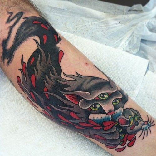 julian bast tattoo pinterest cats posts and cat tattoos. Black Bedroom Furniture Sets. Home Design Ideas