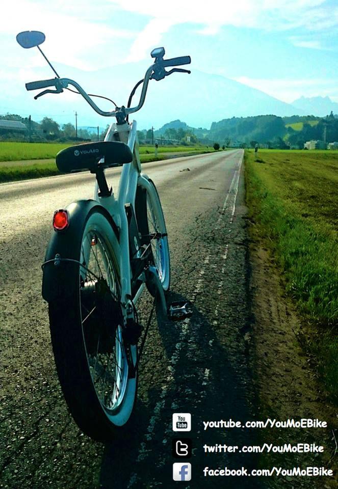 Guten Morgen Wochenende. Wie wäre es mit einer kleinen, relaxten Tour mit deinem YouMo eCruiser? #YouMo #RideYouMo #eCruiser #eBike #Weekend #Sun #Morning