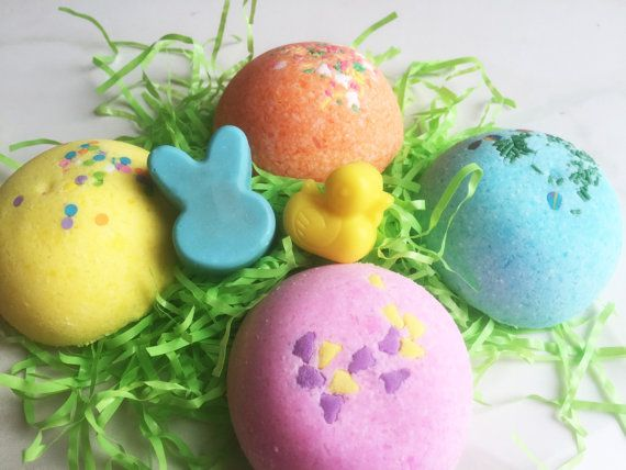 27 best easter basket images on pinterest easter baskets bath bunny bomb bath candy fun fizzy bomb with bunny and ducky soap inside wrapped and ready gift basket hunt party idea easter rabbit duck negle Image collections