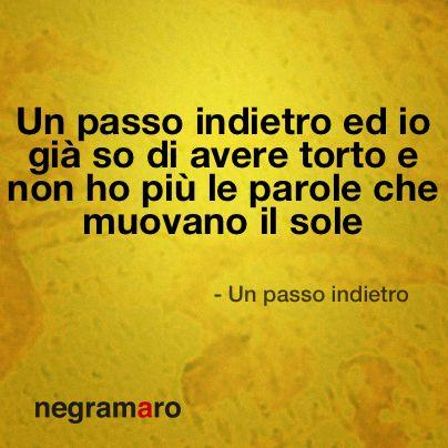 #UnPassoIndietro
