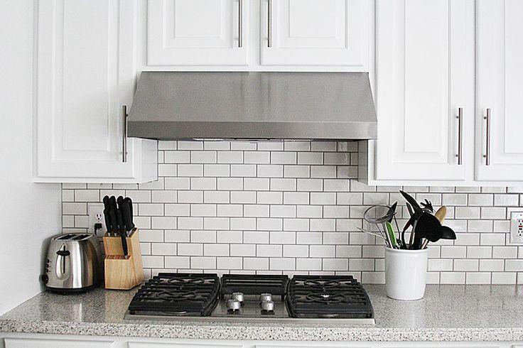 How To Grout Tile Backsplash Glamorous Design Inspiration