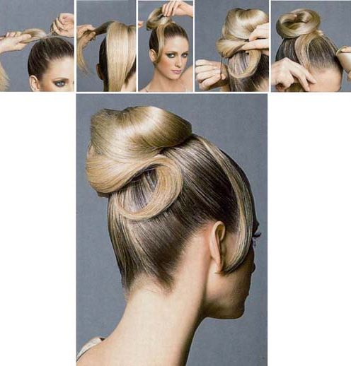 Sleek hair Updo Tutorial for Long hair