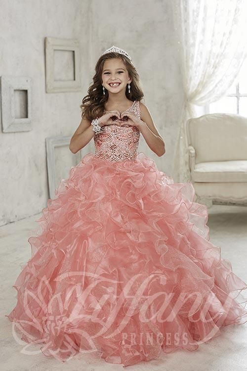 Tiffany Princess Little Girls Pageant Dress Style 13444                                                                                                                                                                                 More