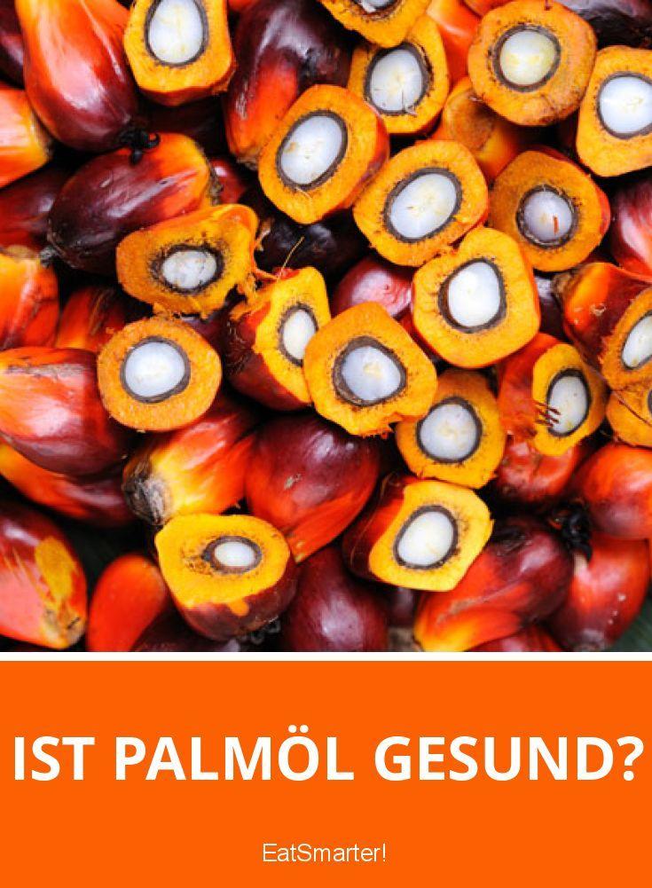 Immer häufiger ist Palmöl als Zutat von Produkten zu finden, fast jedes zweite Supermarktprodukt enthält Palmöl. Dabei ist es eines der meist umstrittensten Lebensmittel. So wird Palmöl zwar auch Positives nachgesagt, doch viele negative Effekte auf die Gesundheit und die Umwelt sprechen eigentlich gegen Palmöl. EAT SMARTER erklärt, ob Palmöl gesund ist und welche Auswirkungen es auf Gesundheit und Umwelt hat.