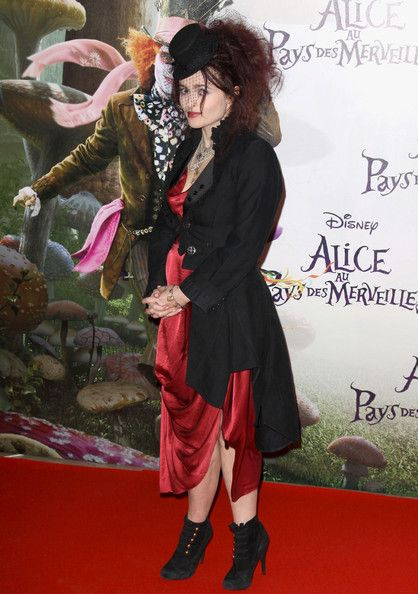 Helena Bonham Carter Photos Photos - 'Alice in Wonderland' premiere at Mogador Theatre in Paris. - Alice in Wonderland Premieres in Paris