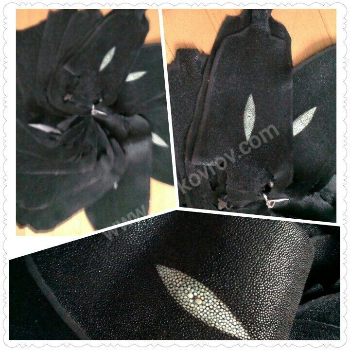 """Кожа натуральная ската нешлифованная,  с """"глазком"""". Это очень износоустойчивая кожа, в свое время ее использовали для декора рукоятей самурайских мечей. Сейчас ее используют для пошива очень красивой обуви, браслетов-bangle, ободков для волос, портмоне, сумок и т.п.www.mirkovrov.com #скат #кожа_натуральная #кожа_морской_змеи #кожа_ската #шкура_питона #шкура_ската #скат_нешлифованный #чует_с_глазком #экзотическая_кожа #экзотические_шкуры"""