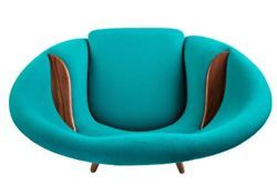 Oda Chair (1956) by Nanna Ditzel reproduced by Brdr. Petersen and Nanna Ditzel Design, 2012.