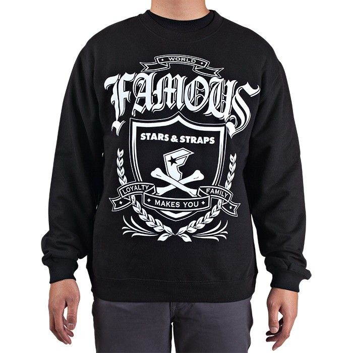 The Nation Crewneck Pullover - The Famous Store Stars and Straps Australia
