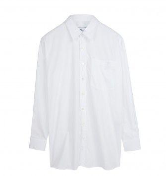 AMI OVERSIZE SHIRT. White. £129.00