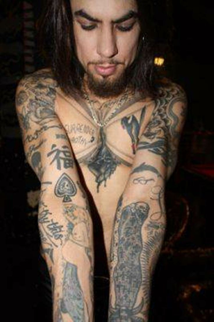 dave navarro tattoos