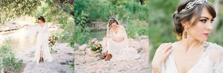 A twist from the traditional bridal look by Wedding Sparrow with an edgy free-spirited boho bridal style, take a look at our ‪#‎UKWS‬ blog http://goo.gl/tos3Vb #wedding #weddingshows #bohobride #boho #edgy #blog #weddingblog