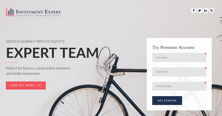 Please follow some steps to adding landing page in Investment Expert WordPress Theme. Create a new page Select Onepage Template Use Backend editor of Visual Composer Add Onepage template from Predefined templates Save & enjoy.Continue reading