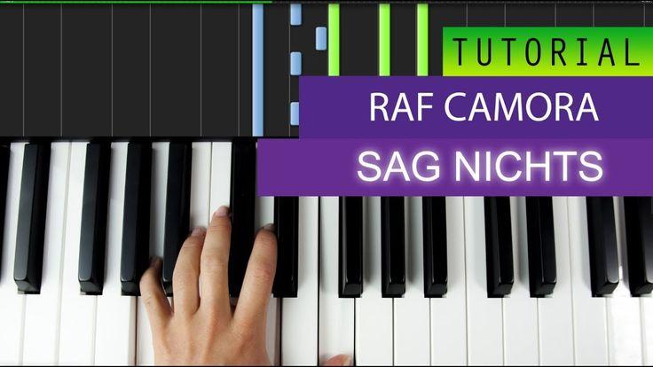 RAF Camora - SAG Nichts - Piano Tutorial