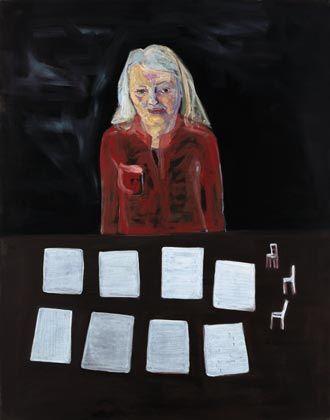 Lena Cronqvist, Tomma ark, 2001