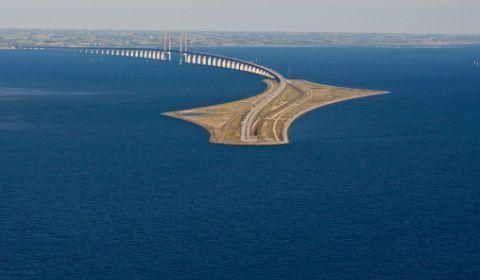 Predstavljamo vam Oresund. Počinje kao most, završava se kao tunel i predstavlja arhitektonsko čudo koje povezuje Kopenhagen i Malme.