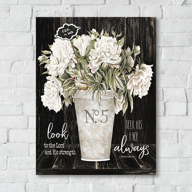 French Country 1 Vase Floral Canvas Art Look Always Country Wall Art French Country Decorating French Country Colors