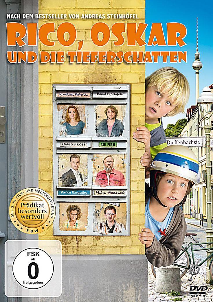 Rico Oskar Und Die Tieferschatten Dvd In 2020 Kinderbuch Bestseller Rico Oskar Und Filme