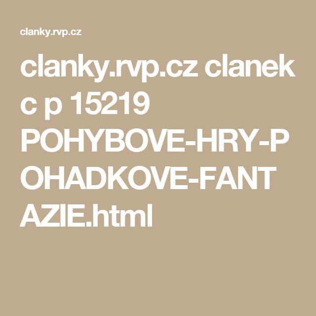 clanky.rvp.cz clanek c p 15219 POHYBOVE-HRY-POHADKOVE-FANTAZIE.html