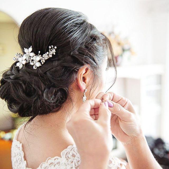 Asian bridal makeup,bridal hair style, Asian wedding makeup,