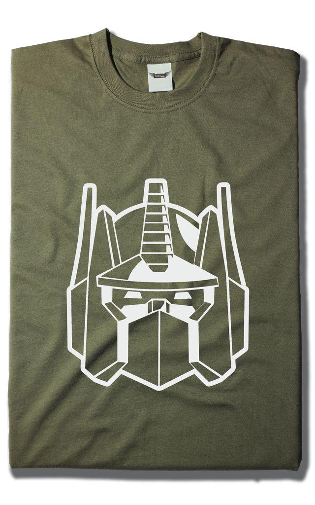Camiseta Optimus Prime
