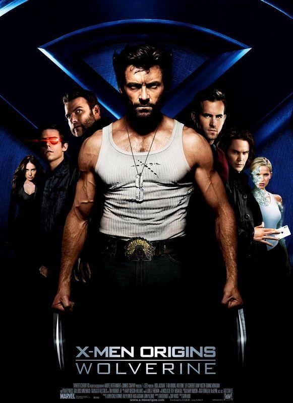 X Men Origins Wolverine 2009 Wolverine Movie Wolverine 2009 Wolverine Poster