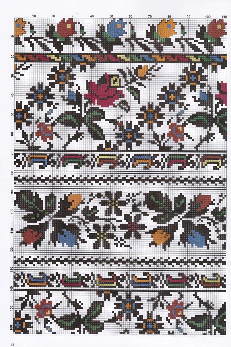 Схема до вишиванки №1