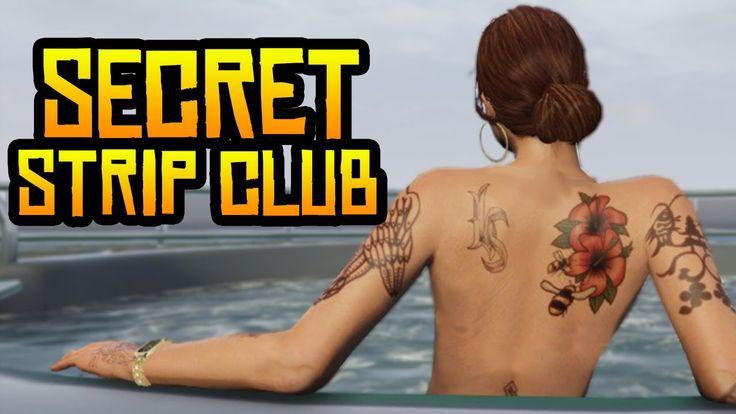 GTA 5 Online - Secret Strip Club in GTA 5! (Hidden Strip Club Details & ...