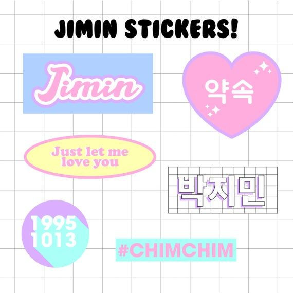 stickers bts