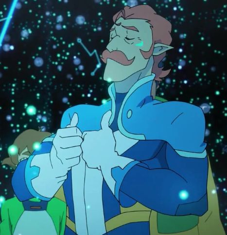 "Coran the ""Proud sparkly uncle"""
