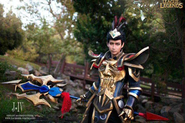 Warring Kingdoms Xin Zhao Cosplay League of Legends ...