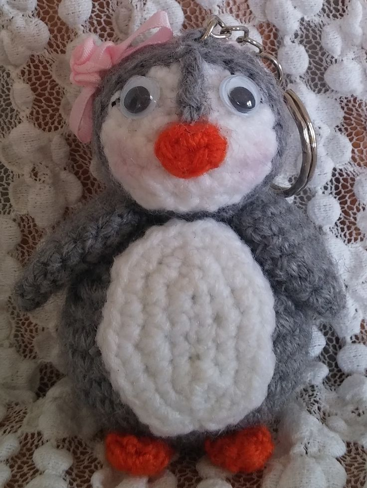 Mrs Pinguino. Amigurumi. Uncinetto. Crochet.