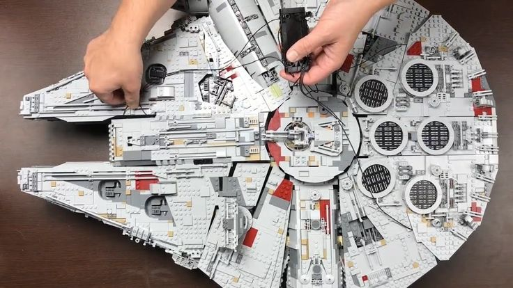 How to Display Your New LEGO UCS Millennium Falcon