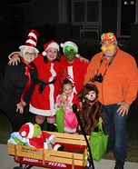 Dr. Suess' The Grinch Character Costumes