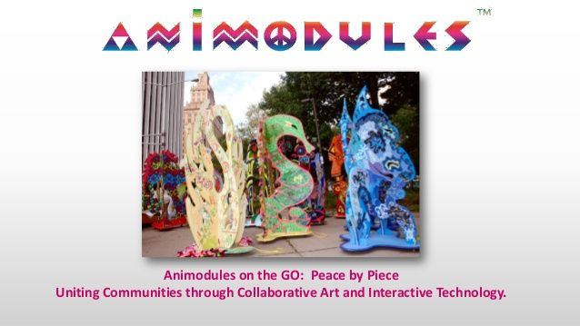 Are you ready to talk with the Animodules, walk with the Animodules, tap the Animodules on GO? Animodules for PEACE on the GO 2015  by Near Field Connects via slideshare