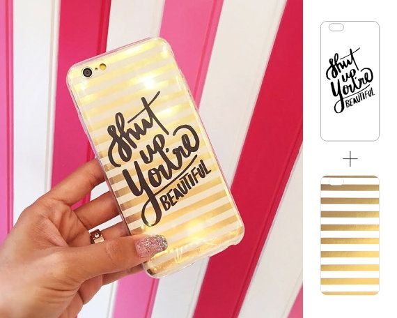 quality design 812ae f5b77 Quotes iPhone Case Insert Clear Transparent Film by ShopLrSi   phone ...