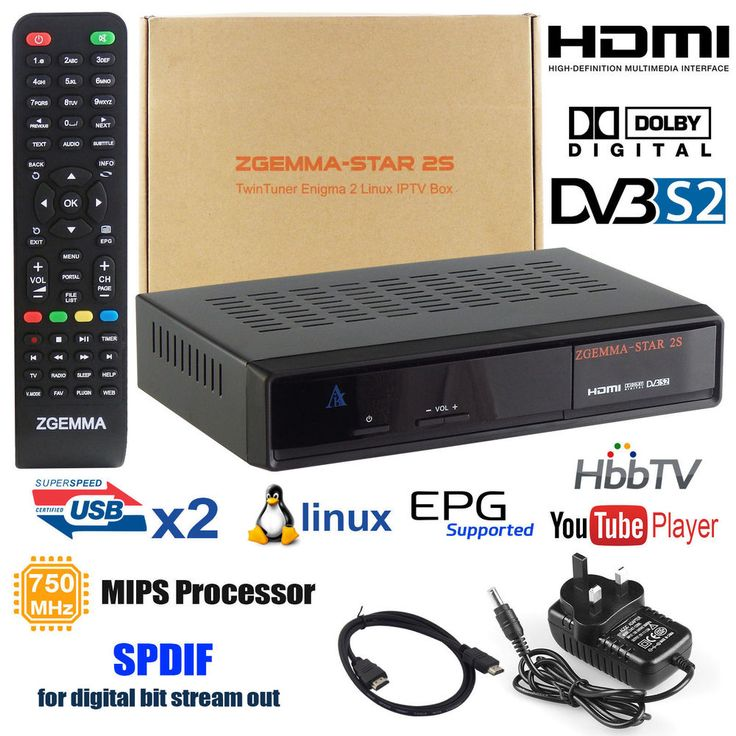 Note: No Gift Card along with this Zgemma box. DVB-S2 DVB-S2 Two Tuner. HDMI up to 1080p. HDTV Receiver MHEG-2/4 H. 264. Two DVB-S2 Tuner built-in. Low deep-standby power consumption under 1 W. USB PVR Support of external HDD (HDD Optional).   eBay!
