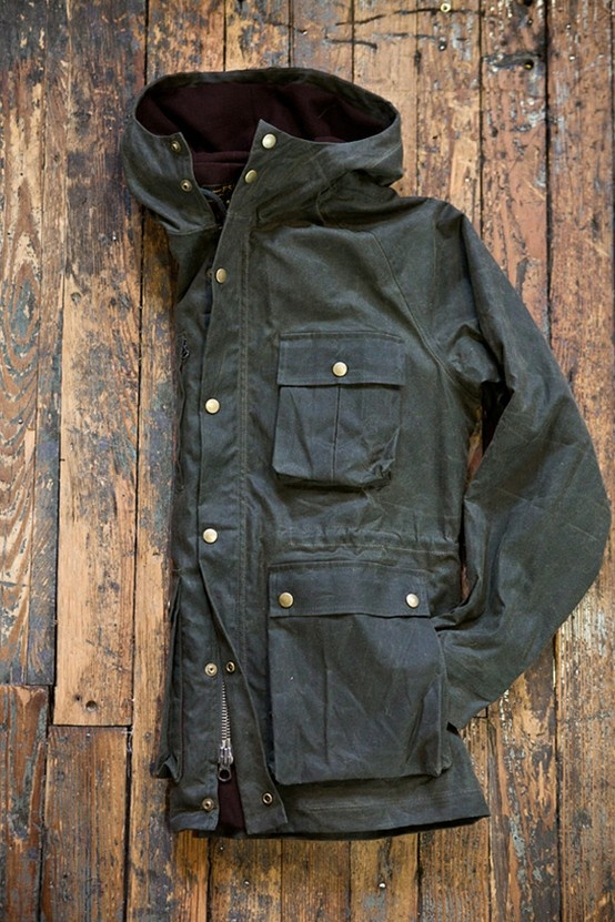 Outerwear // Barbour