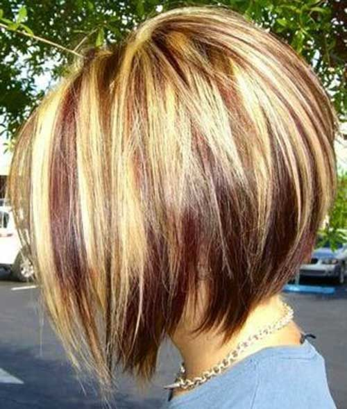 35 Cool Hair Color Ideas To Try In 2016: Bob Hairstyles 2015 - Short