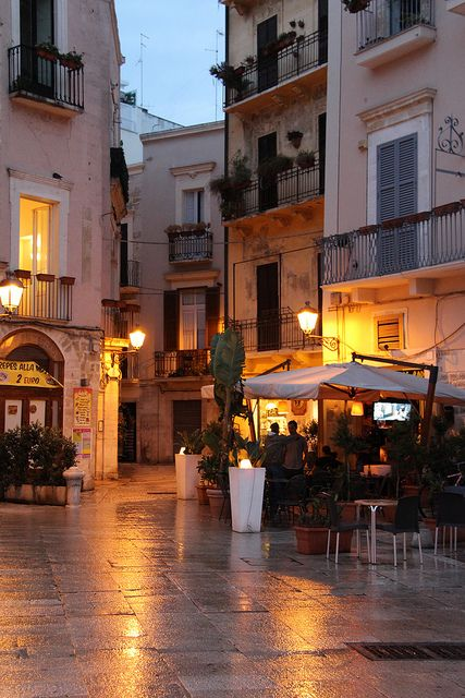 Would love to go walking in Bari ,Puglia,Italy