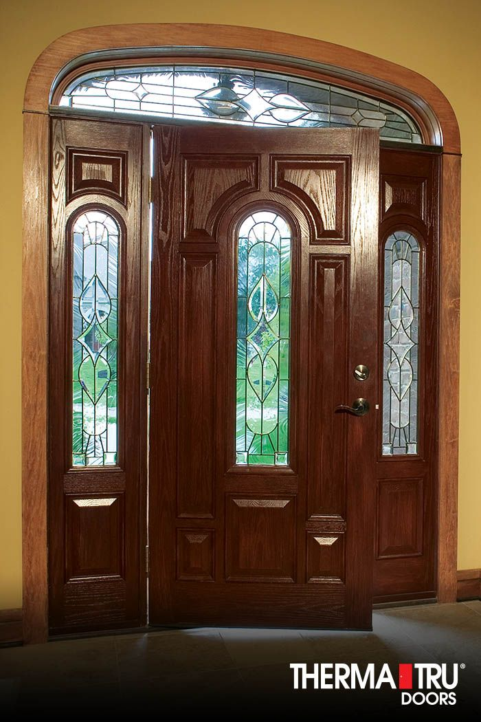 10 best images about classic craft oak collection on for Therma tru fiberglass entry doors prices