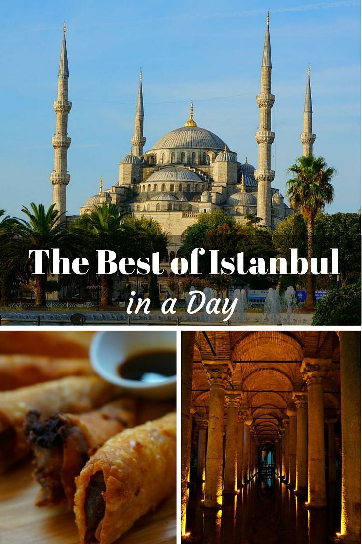 The Best of Istanbul - In a day! Istanbul Turkey is on most people's travel bucket list. But if you only have a short time to visit, here is a list of things not to be missed (and how to find them all in a day). Click to find out more @venturists