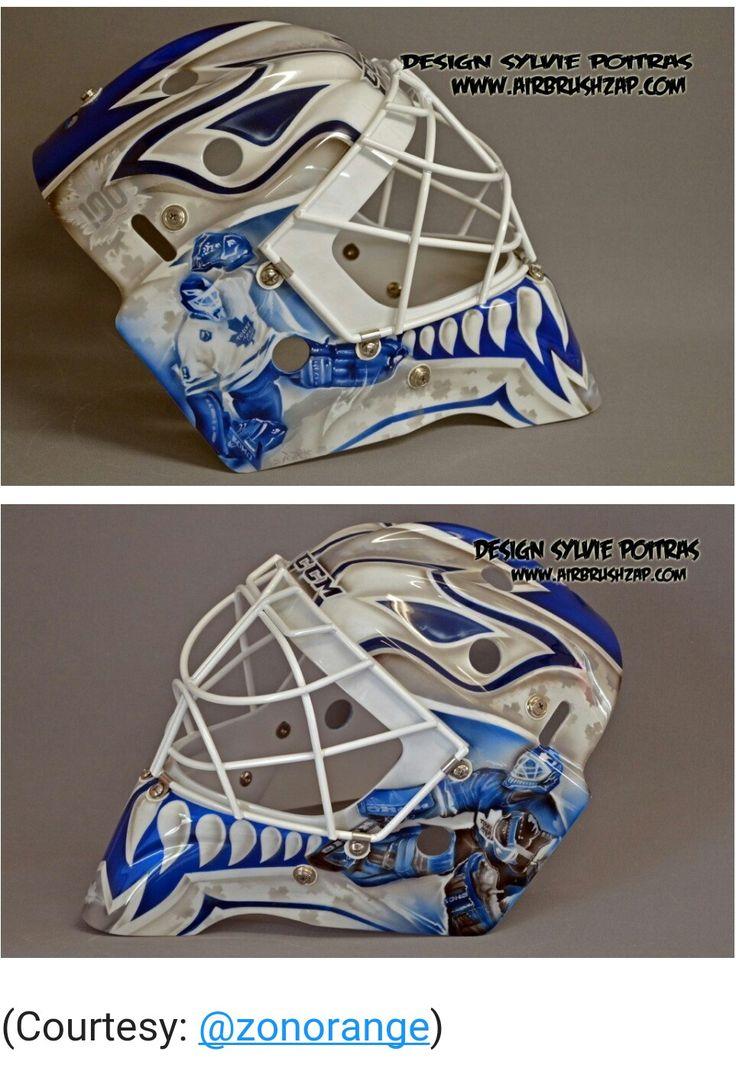 Leafs rookie goalie. Tribute to Felix Potvin