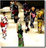 Современный японский дизайн костюма