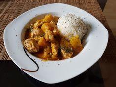 Hähnchen-Ananas-Curry mit Kokosmilch, ein sehr schönes Rezept aus der Kategorie Geflügel. Bewertungen: 118. Durchschnitt: Ø 4,4.