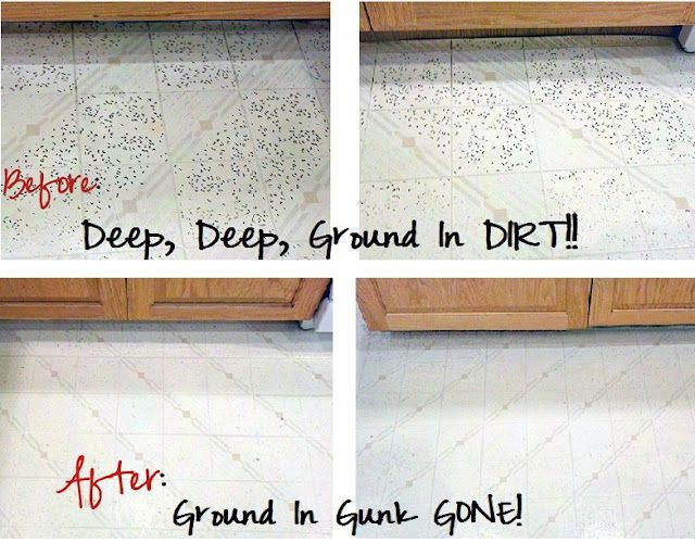 A Surprising Way To Get Stubborn Dirt Out Of Your Linoleum Floors